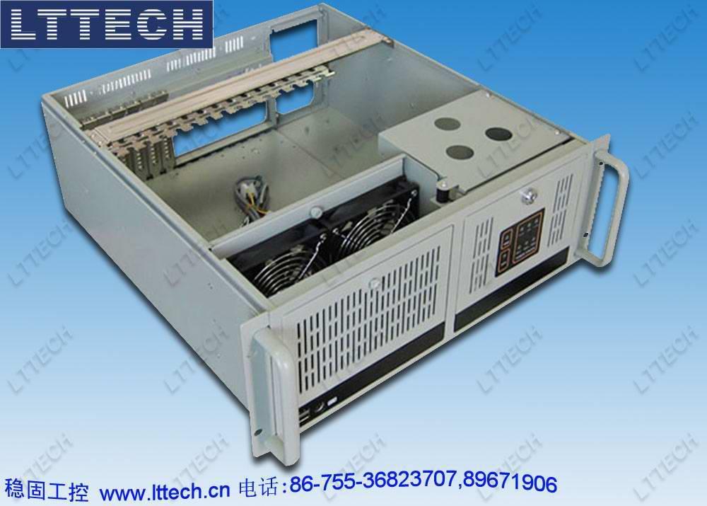 4u上架型标准工控机箱ipc610h